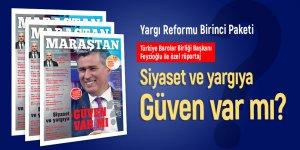 Maraştan Gazetesi 103'üncü sayı! Yargı Reformu