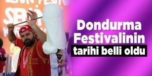 Dondurma Festivalinin tarihi belli oldu