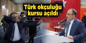 Türk okçuluğu kursu açıldı
