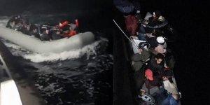Bodrum'da 78 düzensiz göçmen yakalandı