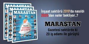 Maraştan Gazetesi 104'üncü sayı! İnşaat sektörü sayısı