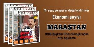 Maraştan Gazetesi 105'inci sayı! Yıl sonu ve yeni yıl değerlendirme - Ekonomi sayısı