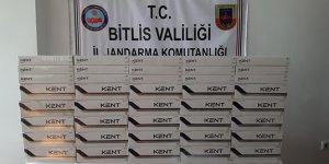 Bitlis'te 2 bin 830 paket kaçak sigara ele geçirildi