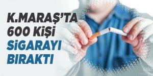 Kahramanmaraş'ta 600 kişi sigarayı bıraktı