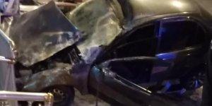 Hatay'da trafik kazası, yaralananlar var