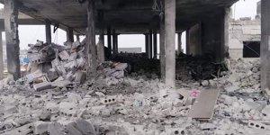 Halep'e hava saldırısı: 9 ölü