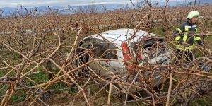 Sarıgöl'de trafik kazası: 6 yaralı
