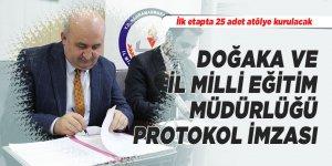 DOĞAKA ve İl Milli Eğitim Müdürlüğü protokol imzası