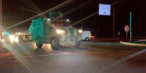 Suriye sınırına büyük zırhlı araç sevkiyatı