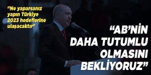 """Cumhurbaşkanı Erdoğan: """"AB'yi terör karşısında ilkeli bir tutum sergilemeye davet ediyorum"""""""
