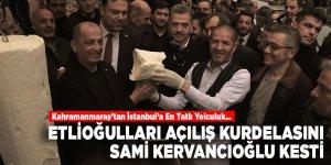 Etlioğulları açılış kurdelasını Sami Kervancıoğlu kesti
