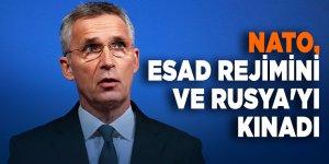 NATO, Esad rejimini ve Rusya'yı kınadı
