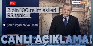 Saldırı sonrası Erdoğan'dan ilk açıklama! 'Suriye'de asıl hedef Türkiye!'