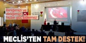 Dulkadiroğlu Meclisi'nden Bahar Kalkanı Harekatına destek