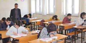 Elbistan Fen Lisesi'nden matematik yarışması sınavı