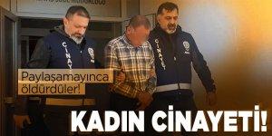 Adana'da paylaşılamayan kadın cinayeti