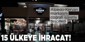 Alpedo-Kervan markasını coğrafi işaretle tescilledi