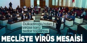 Dulkadiroğlu'ndan virüse karşı tedbir toplantısı