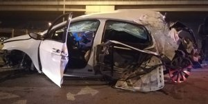 İzmir'de korkutan kaza: 4 yaralı