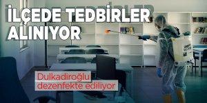 Dulkadiroğlu dezenfekte ediliyor! Belediye önlemleri arttırdı