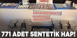 Kahramanmaraş'ta uyuşturucu operasyonu! 3 tutuklama
