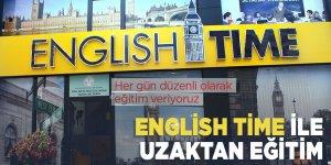 English Time ile uzaktan eğitim