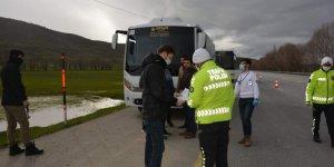 3 otobüs sürücüsüne korona virüs cezası