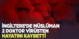İngiltere'de Müslüman 2 doktor virüsten hayatını kaybetti