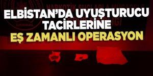 Kahramanmaraş'ta uyuşturucu tacirlerine eş zamanlı operasyon