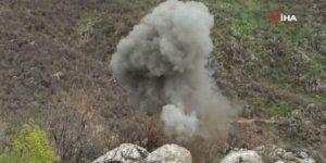 PKK'lı teröristlerin hazırladığı tuzak ellerinde patladı!