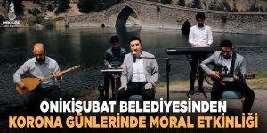 Onikişubat Belediyesi, koronaya karşı Maraş türküleri ile halkın moralini yükseltiyor