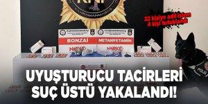 Kahramanmaraş'ta uyuşturucu tacirleri suç üstü yakalandı!