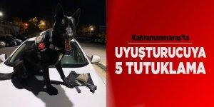 Kahramanmaraş'ta uyuşturucuya 5 tutuklama