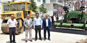 Göksun Belediyesi Sıcak Asfalt Çalışmalarına Başladı