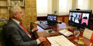 Üniversitemiz Rektörü Prof. Dr. Niyazi Can, Canlı Yayında Öğrencilerin Sorularını Yanıtladı