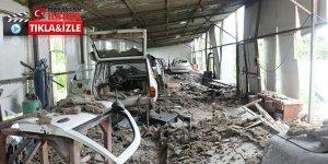 Sakarya'daki patlamada bir bardak su ile hayatları kurtuldu