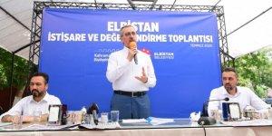 "Başkan Güngör: ""Elbistan'a 527 milyon TL yatırım yapacağız"""