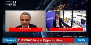 Türksat 5A ilk kez canlı yayınla tüm dünyaya gösterildi