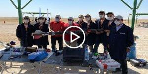 Teknofest'te gençler roketlerini büyük bir heyecanla ateşledi
