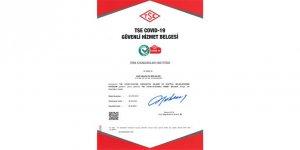 EİB, TSE COVID-19 Güvenli Hizmet Belgesi alan ilk ihracatçı birliği oldu