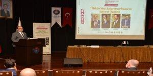 Kahramanmaraş'ta Türkiye'nin Uluslararası İnsani ve Kültürel İlişkileri Konulu Panel Düzenlendi