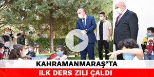 Kahramanmaraş'ta ilk ders zili çaldı