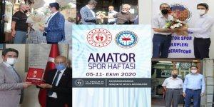 Kahramanmaraş'ta spor emektarları ziyaret edildi