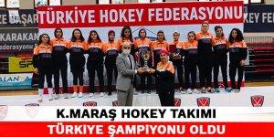 Kahramanmaraş Hokey Takımı Türkiye Şampiyonu oldu