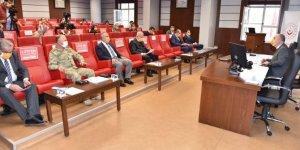 Kahramanmaraş'ta Kadına Yönelik Şiddetle Mücadele İl Koordinasyon toplantısı