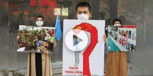 Kahramanmaraş'ta Türkiye-Çin 'Suçluların İadesi Anlaşması'na tepki