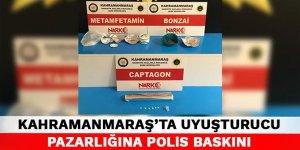 Kahramanmaraş'ta uyuşturucu pazarlığına polis baskını