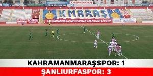 Kahramanmaraşspor 1-3 Şanlıurfaspor
