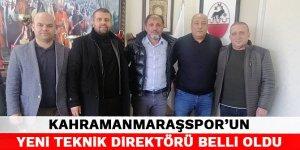 Kahramanmaraşspor'un yeni teknik direktörü belli oldu