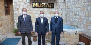 Rektör Niyazi Can, MÜSİAD'ı ziyaret etti